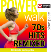 Power Walk  70's Hits Remixed (60 Min Non Stop Workout Mix)-Power Music Workout