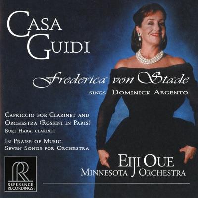 """Argento: Casa Guidi, Capriccio """"Rossini in Paris"""" & in Praise of Music - Frederica Von Stade"""