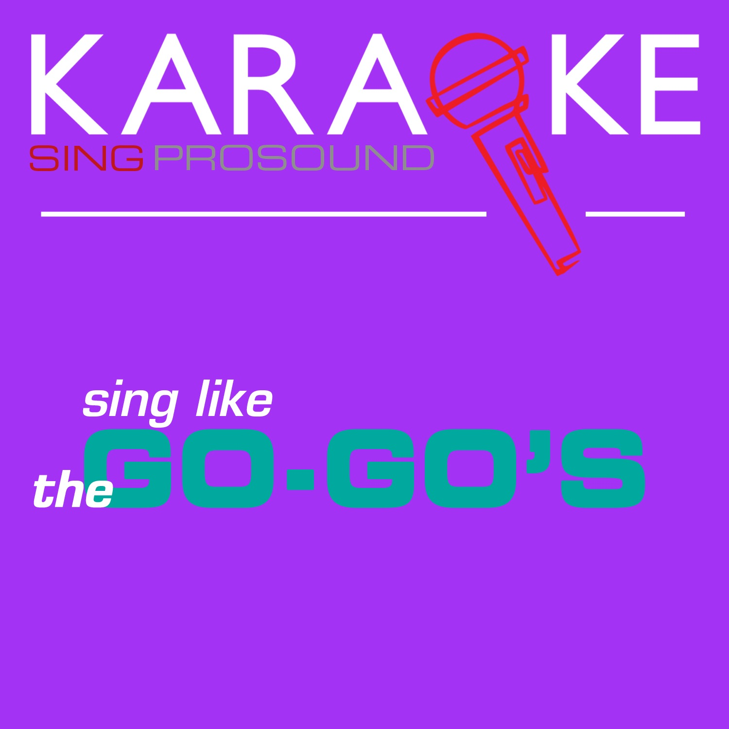 Karaoke in the Style of the Go-Go's - Single