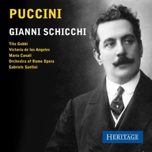 Puccini: Gianni Schicchi – Orchestra of Rome Opera, Gabriele Santini & Victoria De Los Angeles