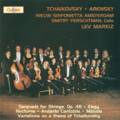 Arensky: Variations on a Theme of Tchaikovsky - Tchaikovsky: Serenade for Strings, Op. 48