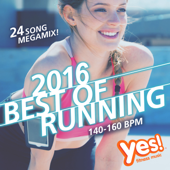 Best of Running 2016: 140 - 160BPM (24-Song Megamix!)