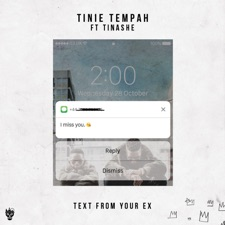 Text From Your Ex by Tinie Tempah feat. Tinashe