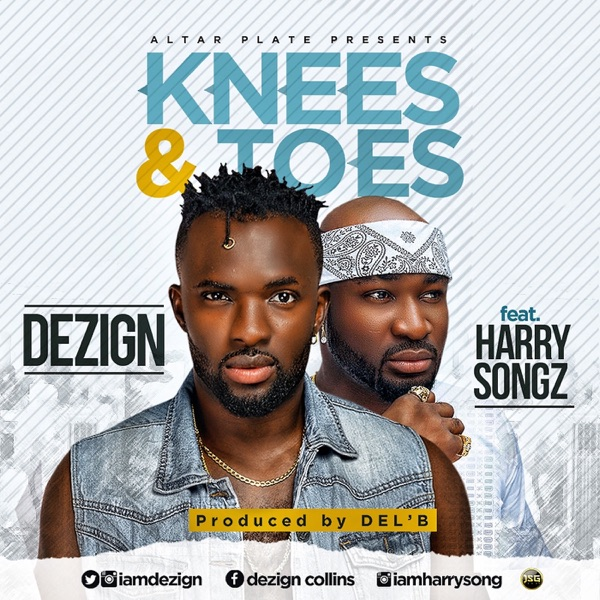 Knees & Toes (feat. Harrysong) - Single