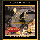 Vaccai Voice Exercises for High Coloratura Voice, Vol. 2