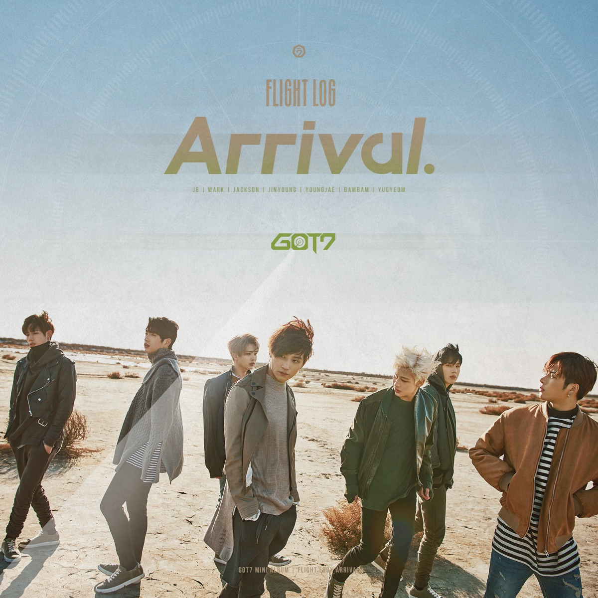 FLIGHT LOG ARRIVAL GOT7 CD cover