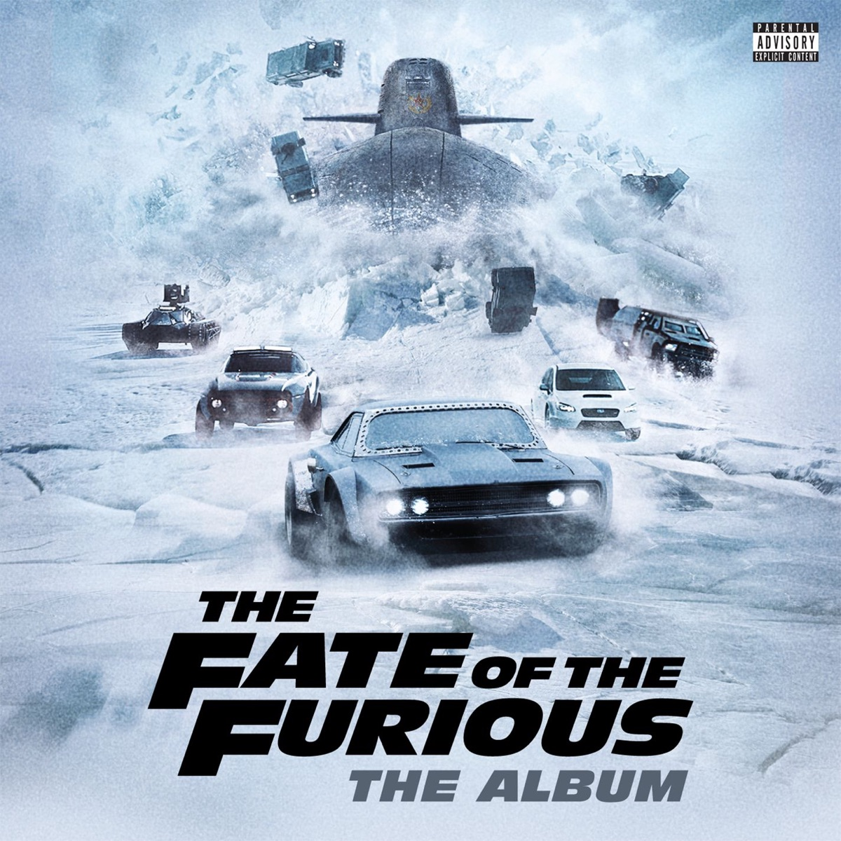 The Fate of the Furious The Album Various Artists CD cover