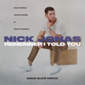 Remember I Told You (Dave Audé Remix) [feat. Anne-Marie & Mike Posner] - Single