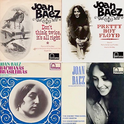 Her Classic 1960s British Eps (Remastered) - Joan Baez