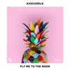 Avocuddle, Zambonini & vensterbank - Fly Me To the Moon artwork