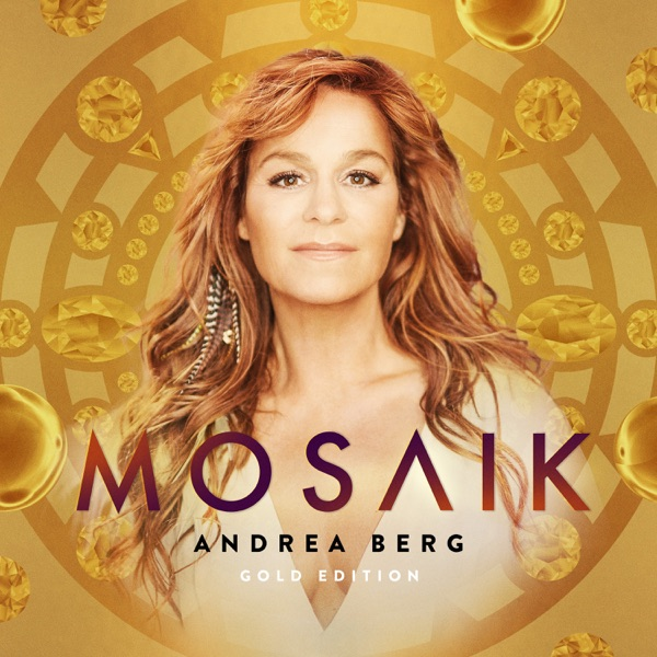 Andrea Berg mit Mosaik