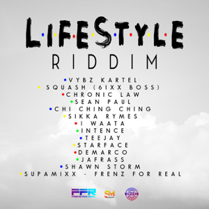 SupaMixx - Frenz for Real - Lifestyle Riddim (Instrumental)