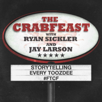 Podcast cover art for The Crabfeast with Ryan Sickler and Jay Larson