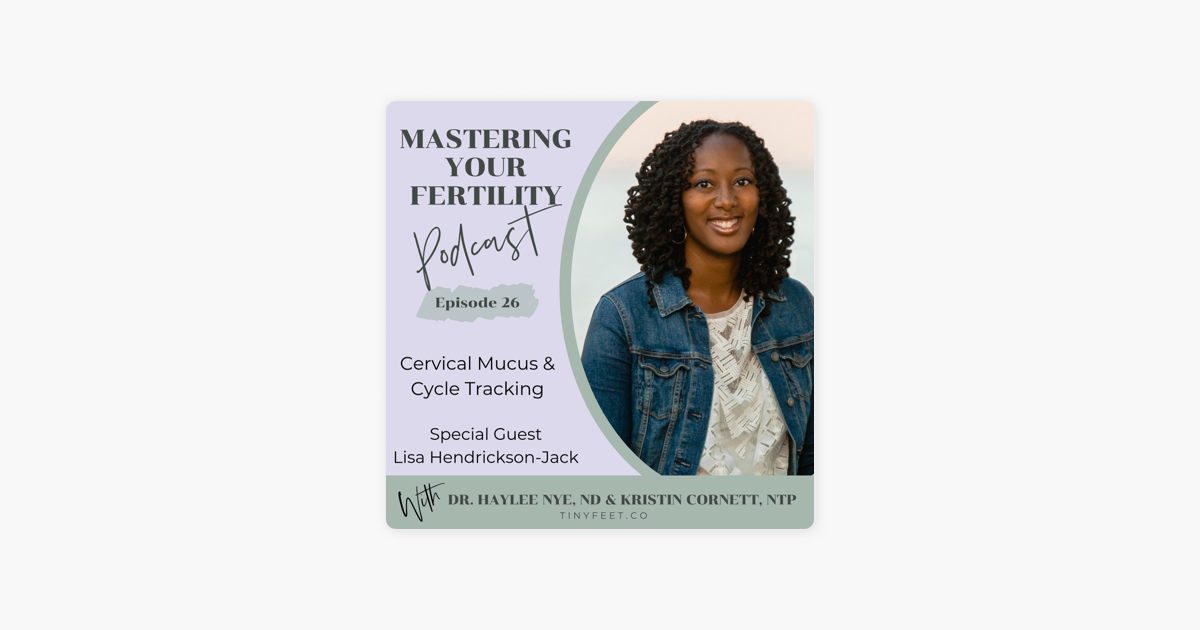 Mastering Your Fertility : #26 Cervical Mucus & Cycle Tracking with