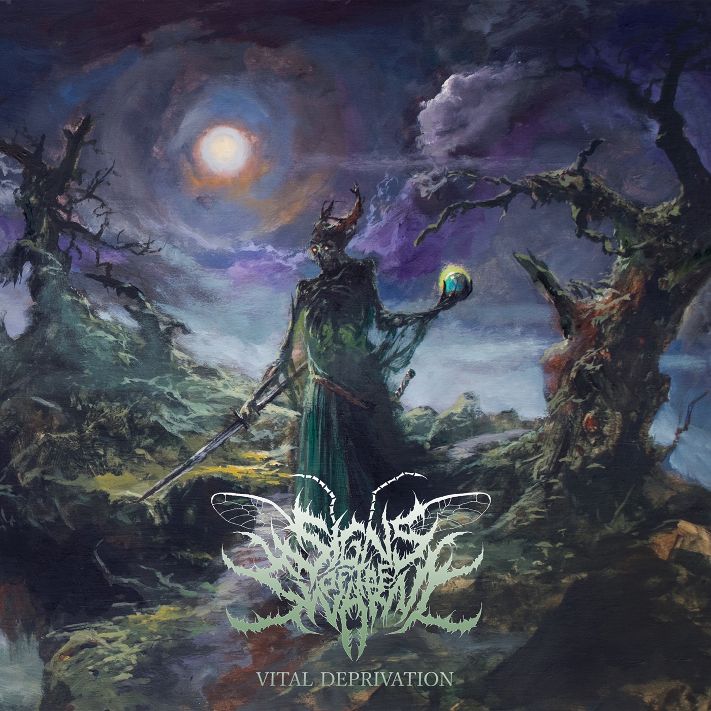 Signs of the Swarm - Crown of Nails [single] (2019)