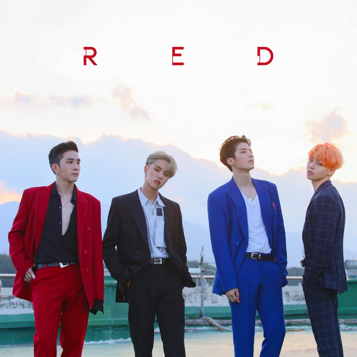 Red - Single Album Cover by The Rose