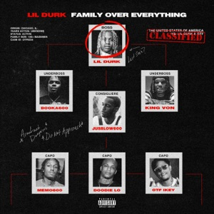 Only The Family & Lil Durk - Fake Love feat. Lil Tjay