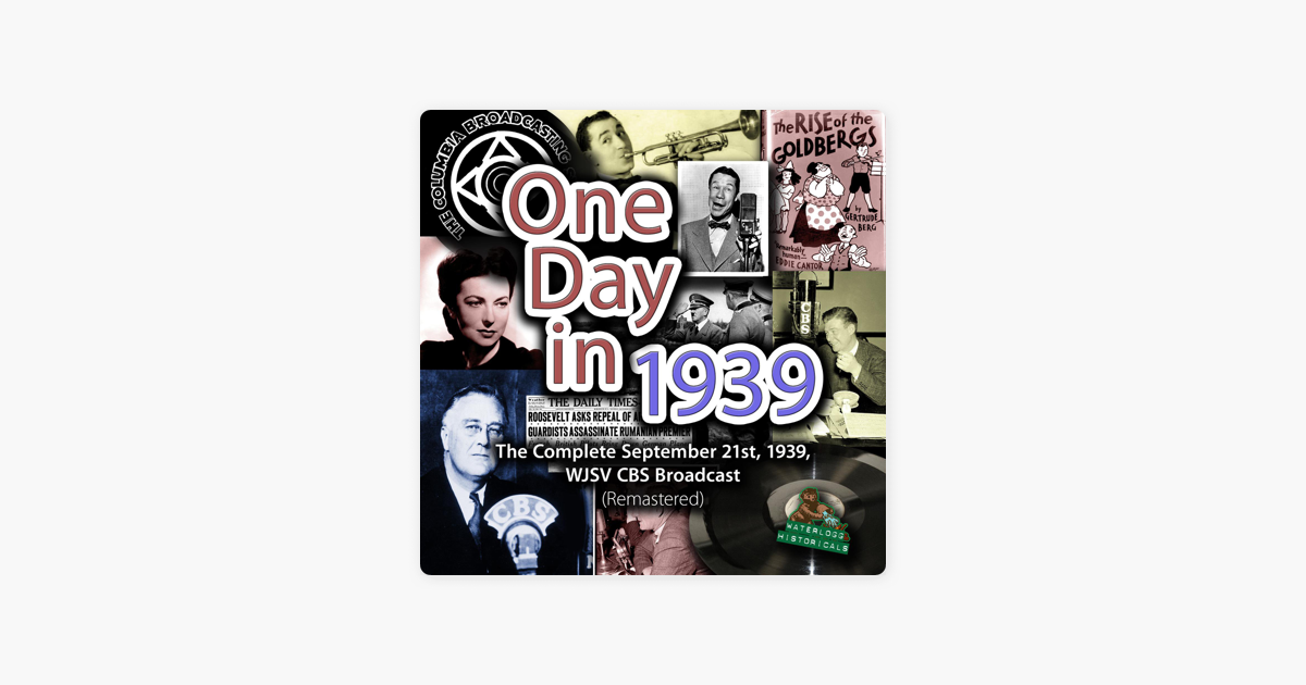 One Day in 1939: The Complete ...
