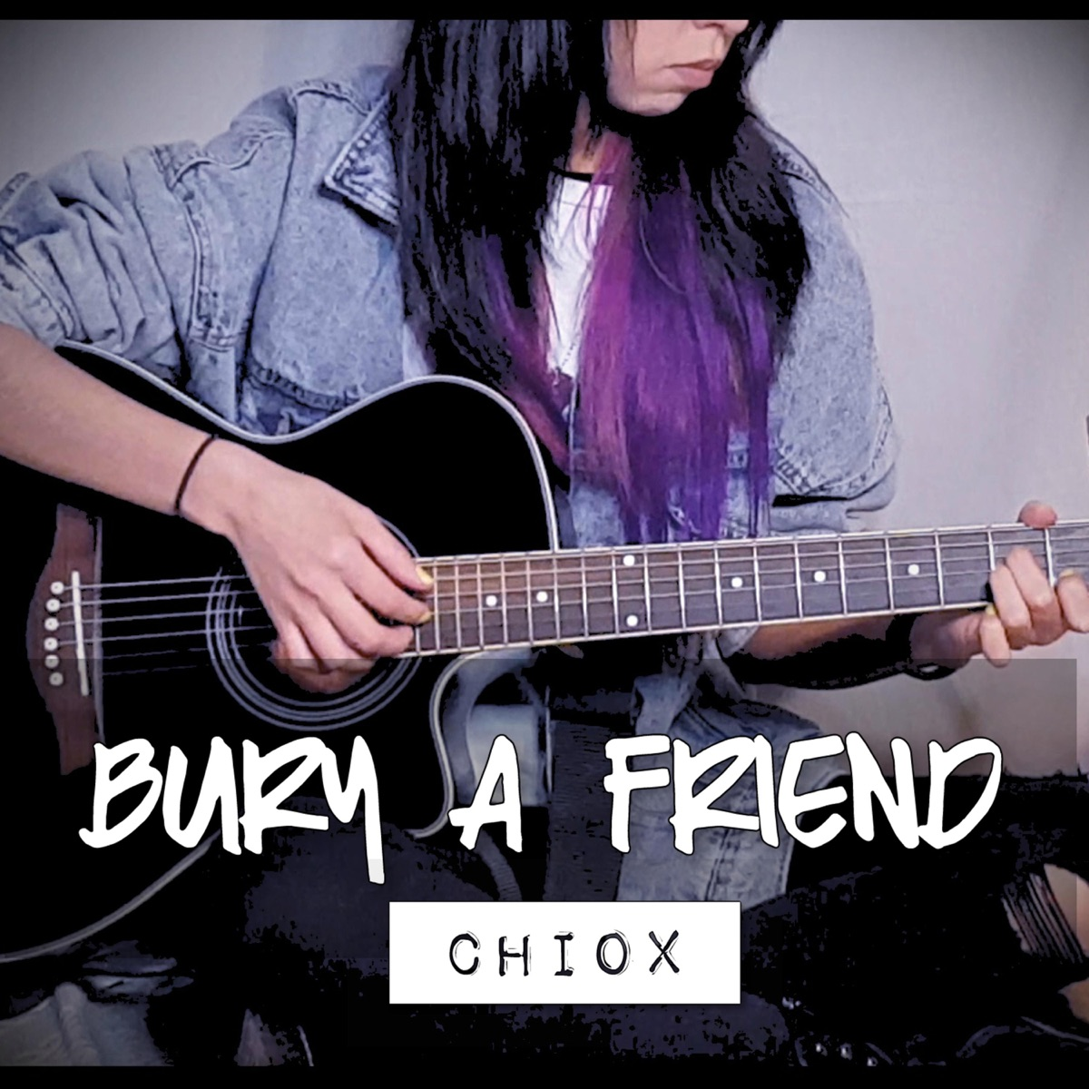 Bury a Friend - Single Chiox CD cover