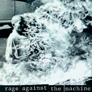 Rage Against the Machine Self Titled album cover