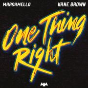 One Thing Right - Marshmello & Kane Brown - Marshmello & Kane Brown