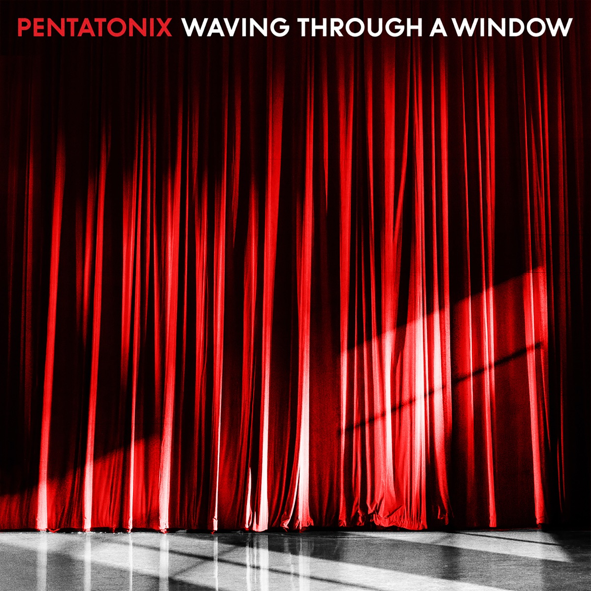 Pentatonix Christmas Deluxe.Waving Through A Window Single Album Cover By Pentatonix
