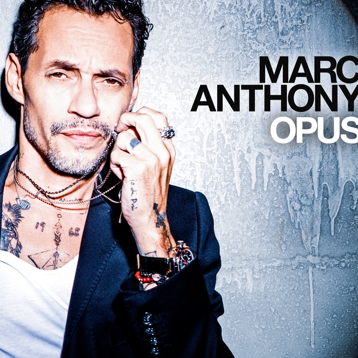 OPUS Marc Anthony CD cover
