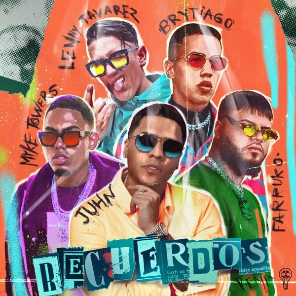 Recuerdos (Remix) [feat. Myke Towers & Lenny Tavárez] - Single