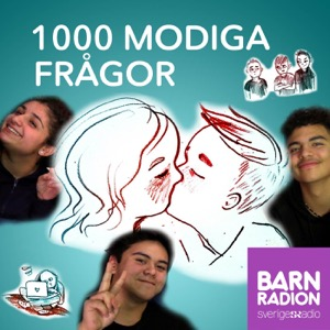 1000 modiga frågor i Barnradion