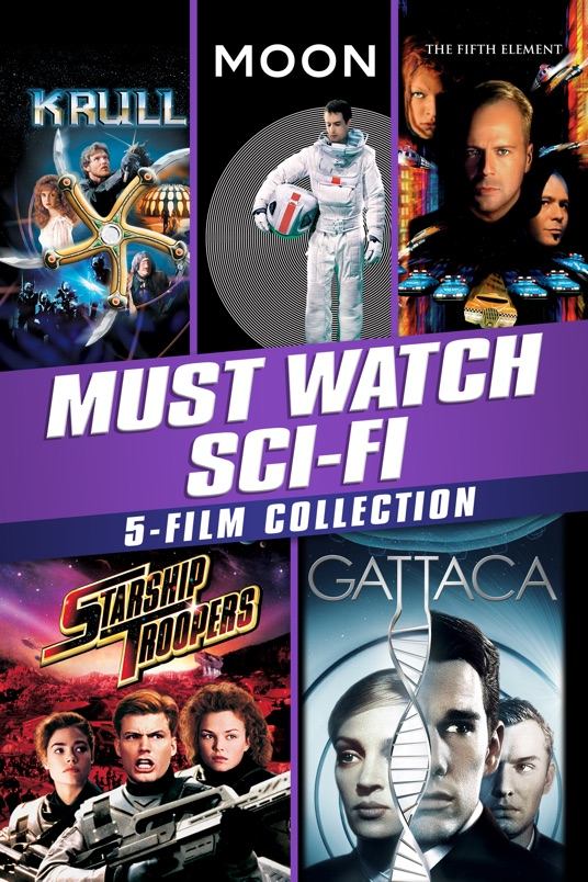 Must-Watch Sci-Fi 5-Film Collection Movie