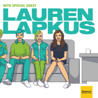 Podcast cover art for With Special Guest Lauren Lapkus