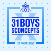 Produce X 101 - 31 Boys 5 Concepts - EP - PRODUCE X 101 Cover Art