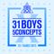 Produce X 101 - 31 Boys 5 Concepts - EP