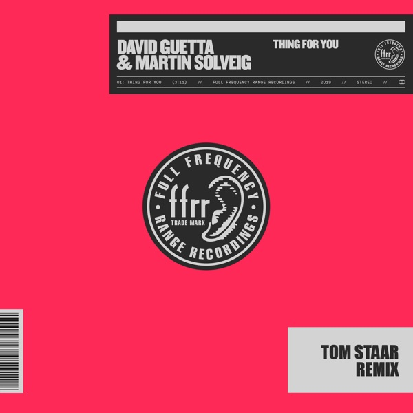 Thing For You (Tom Staar Remix) [Extended] - Single