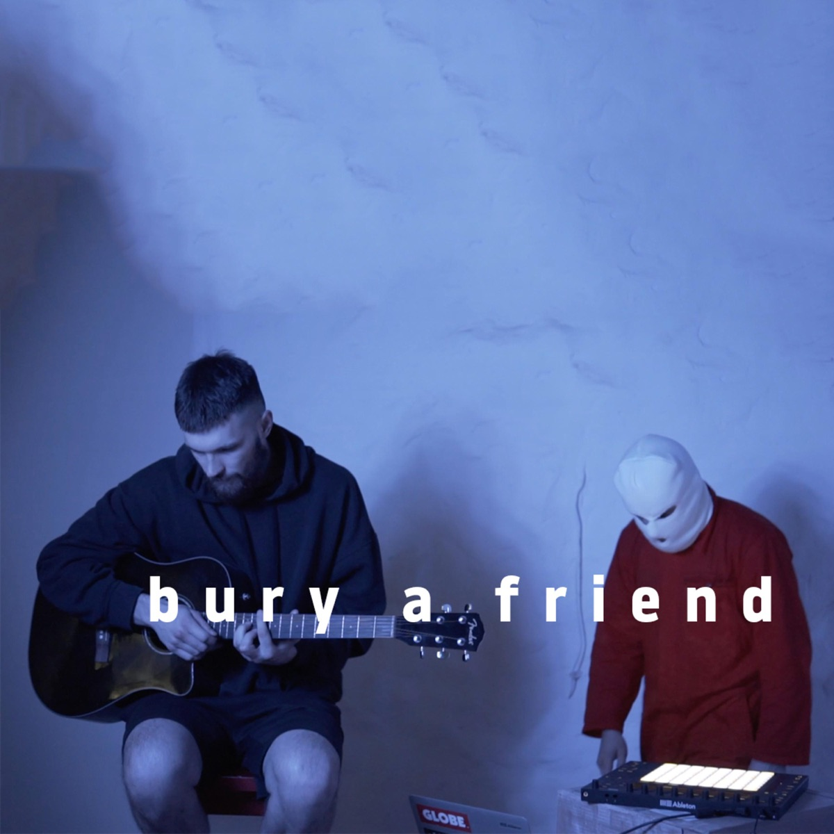 Bury a Friend - Single Sainttt CD cover