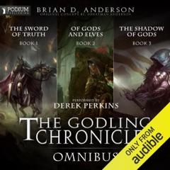 The Godling Chronicles Omnibus: Books 1-3 (Unabridged)