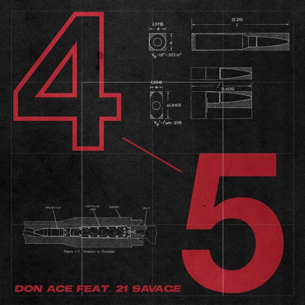 4 5 (feat. 21 Savage) [Remix] - Single