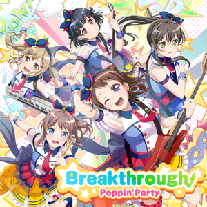 Poppin'Party - Breakthrough!