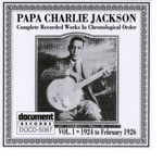 Papa Charlie Jackson - The Faking Blues (Take 2)