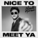 Niall Horan Nice to Meet Ya - Niall Horan
