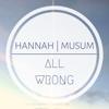 Hannah Musum - All Wrong artwork