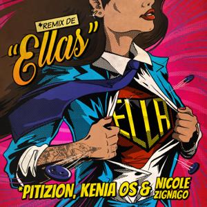 Pitizion, Kenia OS & Nicole Zignago - Ella (Remix De Ellas)