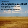 An American quodlibet for piccolo flute and alto flute Single