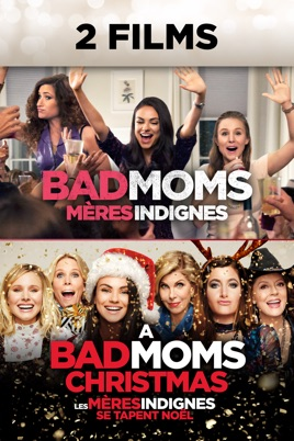 Watch Bad Moms Christmas.Bad Moms Double Feature On Itunes