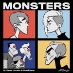 songs like Monsters (feat. Demi Lovato and blackbear)