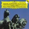 Mozart Symphonies No 25 29 Clarinet Concerto