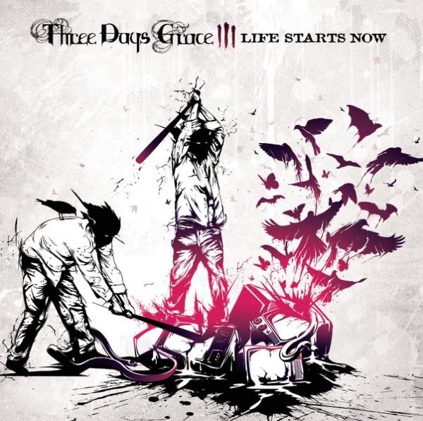 Three Days Grace mit Break
