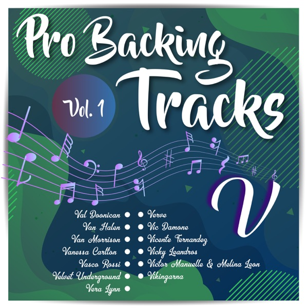 Pro Backing Tracks V, Vol. 1