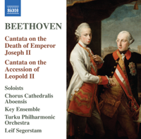 Turku Philharmonic Orchestra & Leif Segerstam - Beethoven: Cantatas artwork