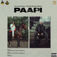 Rangrez Sidhu & Sidhu Moose Wala - Paapi - Single artwork